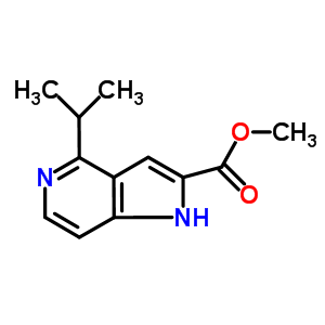 871583-19-6 Methyl 4-isopropyl-1H-pyrrolo[3,2-c]pyridine-2-carboxylate