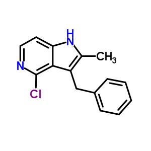 878232-93-0 3-benzyl-4-chloro-2-methyl-1H-pyrrolo[3,2-c]pyridine