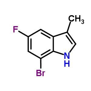 883001-24-9 7-bromo-5-fluoro-3-methyl-1H-indole