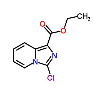 885276-62-0 ethyl 3-chloroimidazo[1,5-a]pyridine-1-carboxylate