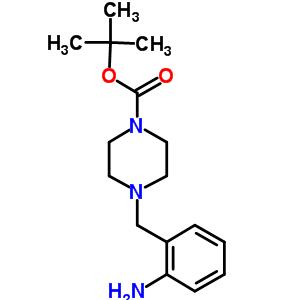 4-(2-氨基苄基)哌嗪-1-羧酸叔丁酯 885278-02-4