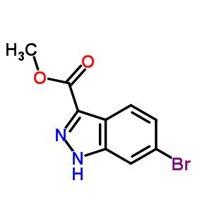 6-溴-1H-吲唑-3-甲酸甲酯 885278-42-2
