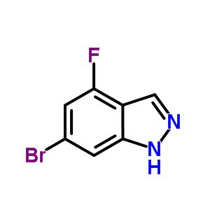 6-溴-4-氟-1H-吲唑 885520-23-0