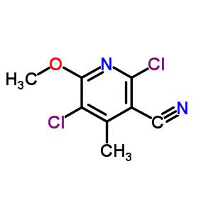886047-45-6 2,5-dichloro-6-methoxy-4-methyl-pyridine-3-carbonitrile