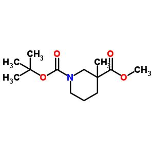 888952-55-4 O1-tert-butyl O3-methyl 3-methylpiperidine-1,3-dicarboxylate