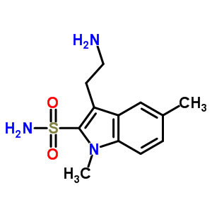 88919-22-6 3-(2-aminoethyl)-1,5-dimethyl-indole-2-sulfonamide