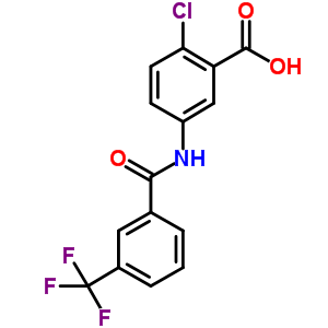 2-chloro-5-(3-(trifluoromethyl)benzamido)benzoic acid 896160-35-3