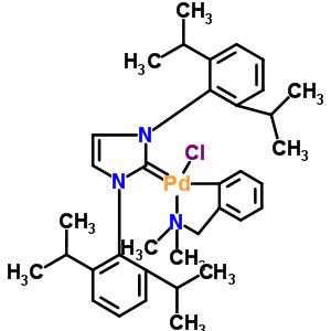 [[1,3-双(2,6-二异丙苯基)咪唑-2-亚基](N,N-二甲基苄胺)氯化钯 930796-10-4