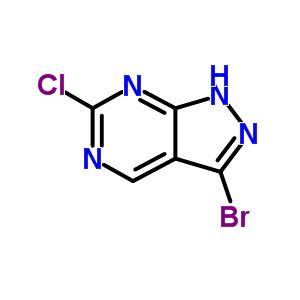 944903-06-4 3-bromo-6-chloro-1H-pyrazolo[3,4-d]pyrimidine