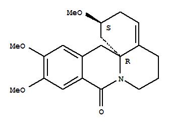 113807-36-6 Dibenzo[b,i]quinolizin-9(14H)-one,1,2,3,5,6,7-hexahydro-2,11,12-trimethoxy-, (2S,14aR)-