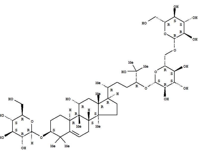 130567-83-8 b-D-Glucopyranoside, (3b,9b,10a,11a,24R)-3-(b-D-glucopyranosyloxy)-11,25-dihydroxy-9-methyl-19-norlanost-5-en-24-yl6-O-b-D-glucopyranosyl-