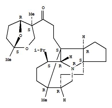 14694-15-6 1-Propanone,1-[(1R,4R,5S)-1,4-dimethyl-2,8-dioxabicyclo[3.2.1]oct-4-yl]-3-[(3aR,4S,4aS,5R,8S,8aR,8bS,10S)-octahydro-8-methyl-5-(1-methylethyl)-4,8,3a-[1,2,4]butanetriylcyclopent[b]indol-8a(4aH)-yl]-