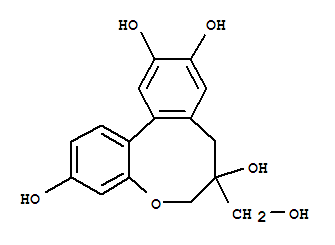 102036-29-3 6H-Dibenz[b,d]oxocin-3,7,10,11-tetrol,7,8-dihydro-7-(hydroxymethyl)-, (7S,12aS)-