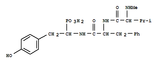 102679-85-6 L-Phenylalaninamide,N-methyl-L-valyl-N-[(1R)-2-(4-hydroxyphenyl)-1-phosphonoethyl]-