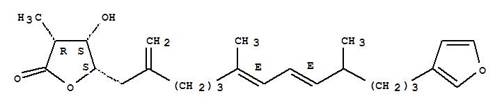 107585-45-5 2(3H)-Furanone,5-[(6E,8E)-13-(3-furanyl)-6,10-dimethyl-2-methylene-6,8-tridecadien-1-yl]dihydro-4-hydroxy-3-methyl-,(3R,4S,5S)-rel-(+)-