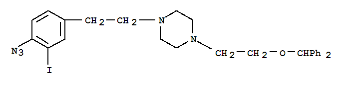 141696-68-6 Piperazine,1-[2-(4-azido-3-iodophenyl)ethyl]-4-[2-(diphenylmethoxy)ethyl]-