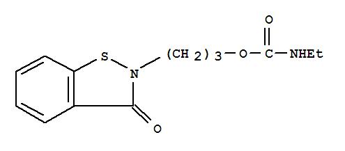 199172-84-4 Carbamic acid, ethyl-,3-(3-oxo-1,2-benzisothiazol-2(3H)-yl)propyl ester (9CI)