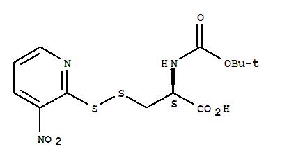 200350-73-8 D-Alanine,N-[(1,1-dimethylethoxy)carbonyl]-3-[(3-nitro-2-pyridinyl)dithio]-