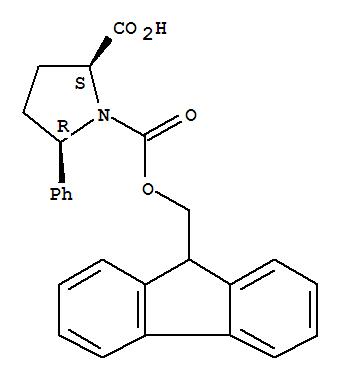 215190-21-9 1,2-Pyrrolidinedicarboxylicacid, 5-phenyl-, 1-(9H-fluoren-9-ylmethyl) ester, (2S,5R)-