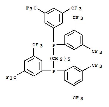 220185-42-2 Phosphine,1,5-pentanediylbis[bis[3,5-bis(trifluoromethyl)phenyl]- (9CI)