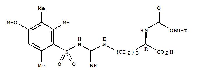 Boc-D-Arg(Mtr)-OH 200122-49-2