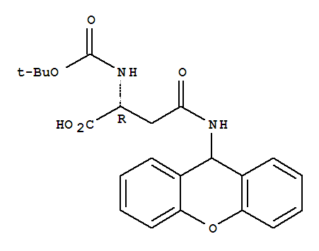 200192-48-9 D-Asparagine,N2-[(1,1-dimethylethoxy)carbonyl]-N-9H-xanthen-9-yl-