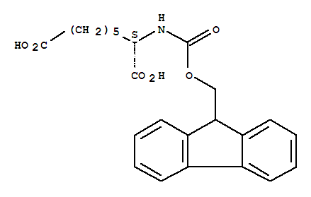 FMOC-L-2-氨基辛二酸