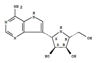 249503-25-1 3,4-Pyrrolidinediol,2-(4-amino-5H-pyrrolo[3,2-d]pyrimidin-7-yl)-5-(hydroxymethyl)-, (2S,3S,4R,5R)-