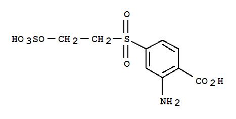 26169-41-5 Benzoicacid, 2-amino-4-[[2-(sulfooxy)ethyl]sulfonyl]-