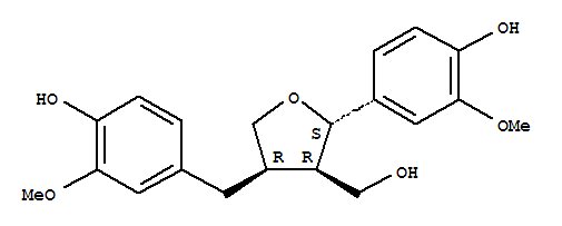 27003-73-2 3-Furanmethanol,tetrahydro-2-(4-hydroxy-3-methoxyphenyl)-4-[(4-hydroxy-3-methoxyphenyl)methyl]-,(2S,3R,4R)-