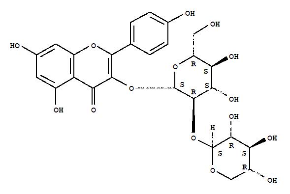 27661-51-4 4H-1-Benzopyran-4-one,5,7-dihydroxy-2-(4-hydroxyphenyl)-3-[(2-O-b-D-xylopyranosyl-b-D-glucopyranosyl)oxy]-