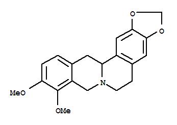 29074-38-2 6H-Benzo[g]-1,3-benzodioxolo[5,6-a]quinolizine,5,8,13,13a-tetrahydro-9,10-dimethoxy-