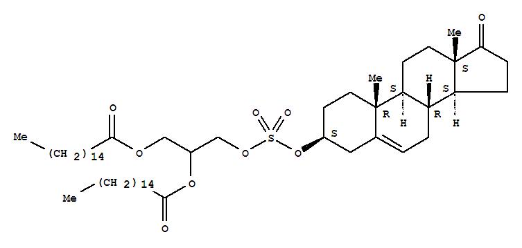 30961-63-8 Androst-5-en-17-one,3-[[[2,3-bis[(1-oxohexadecyl)oxy]propoxy]sulfonyl]oxy]-, (3b)- (9CI)