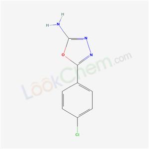 33621-61-3 5-(4-chlorophenyl)-1,3,4-oxadiazol-2-amine