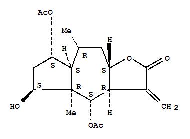 33627-28-0 Azuleno[6,5-b]furan-2(3H)-one,4,7-bis(acetyloxy)decahydro-5-hydroxy-4a,8-dimethyl-3-methylene-,(3aR,4S,4aR,5S,7S,7aS,8R,9aS)-