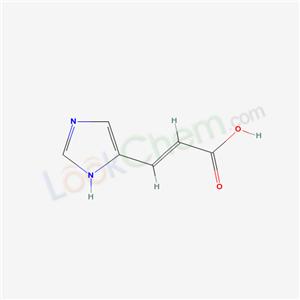 3465-72-3 (2E)-3-(1H-imidazol-4-yl)acrylic acid