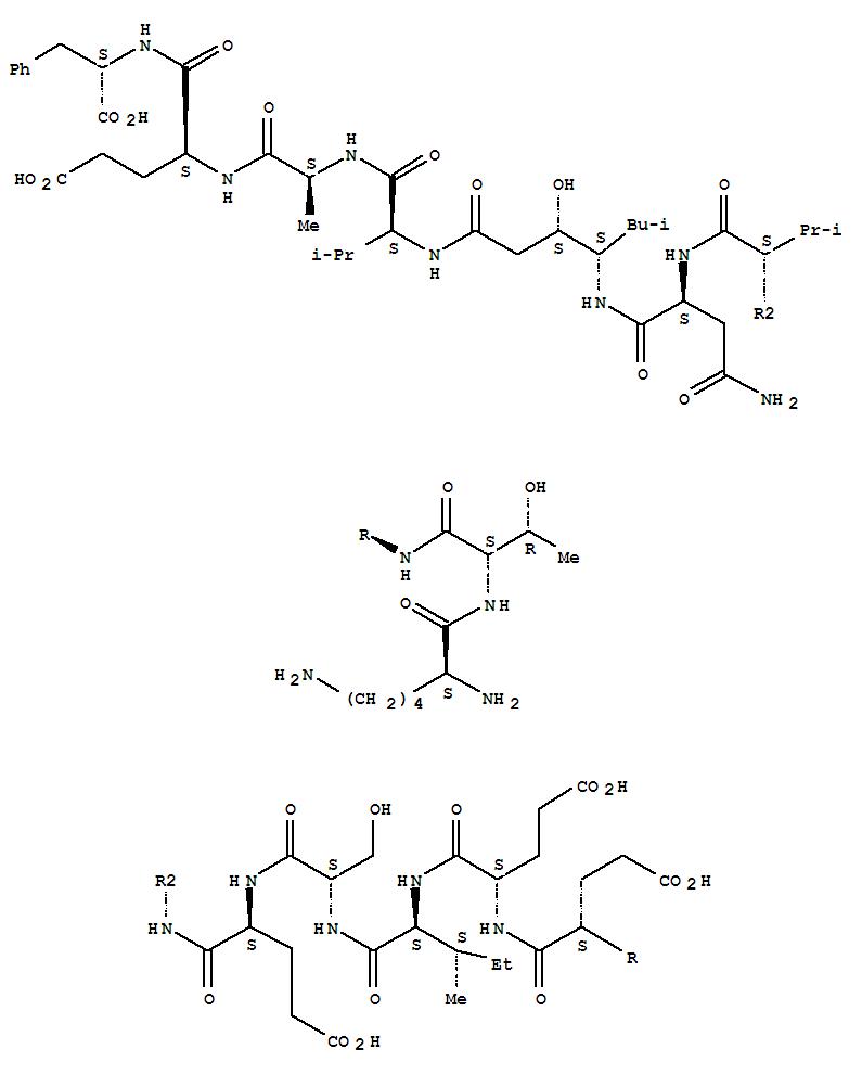 350228-37-4 L-Phenylalanine,L-lysyl-L-threonyl-L-a-glutamyl-L-a-glutamyl-L-isoleucyl-L-seryl-L-a-glutamyl-L-valyl-L-asparaginyl-(3S,4S)-4-amino-3-hydroxy-6-methylheptanoyl-L-valyl-L-alanyl-L-a-glutamyl-