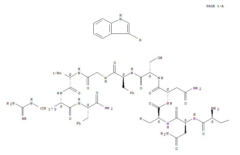 374675-21-5 L-Phenylalaninamide,L-tyrosyl-L-asparaginyl-L-tryptophyl-L-asparaginyl-L-seryl-L-phenylalanylglycyl-L-leucyl-L-arginyl-