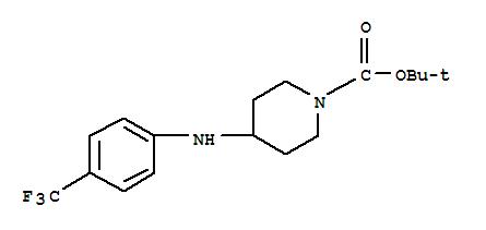 401565-92-2 1-Piperidinecarboxylicacid, 4-[[4-(trifluoromethyl)phenyl]amino]-, 1,1-dimethylethyl ester