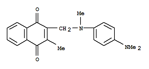 53945-00-9 1,4-Naphthalenedione,2-[[[4-(dimethylamino)phenyl]methylamino]methyl]-3-methyl-