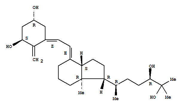 56142-94-0 1,3-Cyclohexanediol,5-[(2E)-2-[(1R,3aS,7aR)-1-[(1R,4R)-4,5-dihydroxy-1,5-dimethylhexyl]octahydro-7a-methyl-4H-inden-4-ylidene]ethylidene]-4-methylene-,(1R,3R,5Z)-