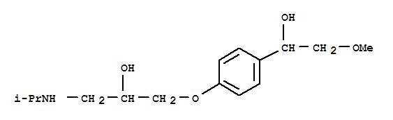 56392-16-6 Benzenemethanol,4-[2-hydroxy-3-[(1-methylethyl)amino]propoxy]-a-(methoxymethyl)-