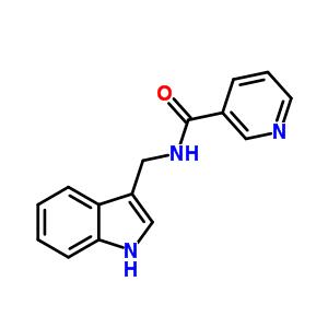 63183-53-9 N-(1H-indol-3-ylmethyl)pyridine-3-carboxamide