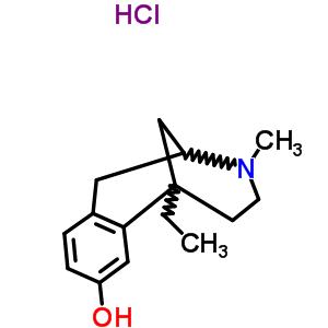 63870-11-1 6-ethyl-3-methyl-1,2,3,4,5,6-hexahydro-2,6-methano-3-benzazocin-8-ol hydrochloride