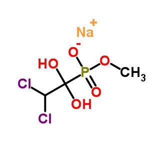 64357-27-3 sodium methyl (2,2-dichloro-1,1-dihydroxyethyl)phosphonate