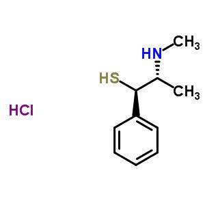 65376-30-9 (1R,2R)-2-(methylamino)-1-phenylpropane-1-thiol hydrochloride