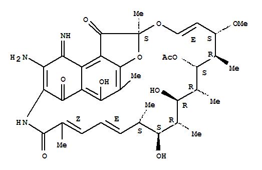 62041-01-4 Rifamycin,3-amino-1,4-dideoxy-1,4-dihydro-4-imino-1-oxo-