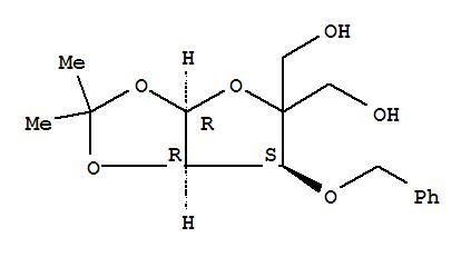 63593-03-3 a-D-erythro-Pentofuranose,4-C-(hydroxymethyl)-1,2-O-(1-methylethylidene)-3-O-(phenylmethyl)-