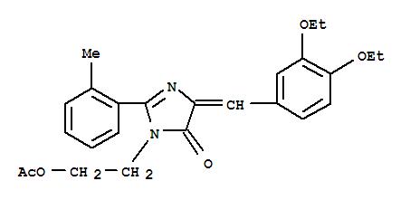 640249-93-0 4H-Imidazol-4-one,3-[2-(acetyloxy)ethyl]-5-[(3,4-diethoxyphenyl)methylene]-3,5-dihydro-2-(2-methylphenyl)-