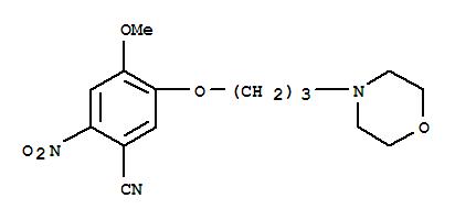 675126-26-8 Benzonitrile,4-methoxy-5-[3-(4-morpholinyl)propoxy]-2-nitro-